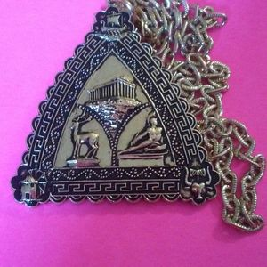 VINTAGE GOLD CUSTOME NECKLACE